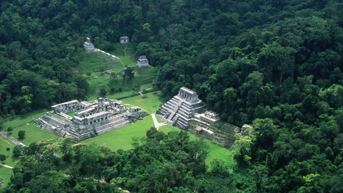 Disappearance Of The Ancient Mayan Civilization