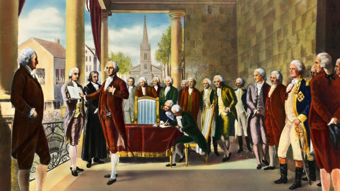hith remembering first presidential inauguration