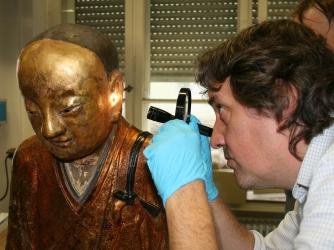 buddhist mummy scan