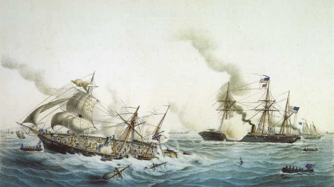 Mortars On Ships : The civil war comes to france years ago history in