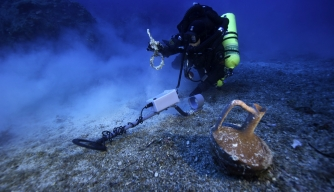 "Divers Excavate Greek Shipwreck Dubbed ""Ancient Titanic"""