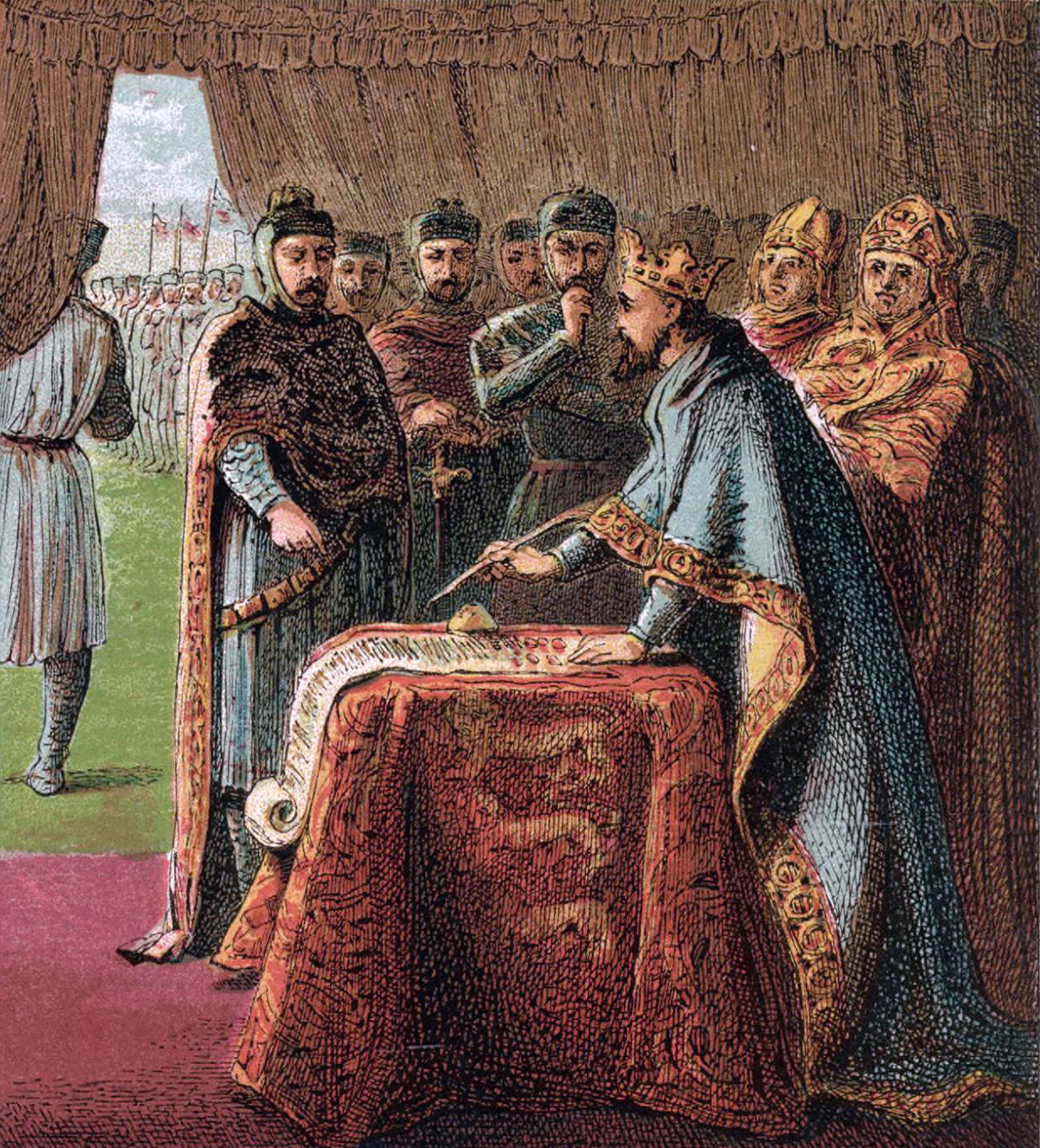 the impact of the magna carta and the american constitution by king john of england Causes and effects of the magna carta, democratic development,  in this case  the document defined the rights of king john, who ruled england at the time,   as constitutions (including australia's constitution) and america's bill of rights.