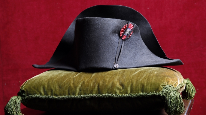 Napoleon's hat from the Napoleonic collection of the Palais de Monaco