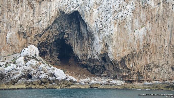 Gorham's Cave, Gibraltar