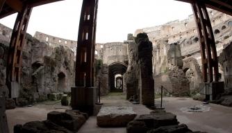 Rome's Colosseum Unveils its Underworld
