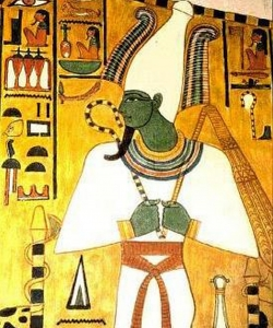 The Egyptian god Osiris