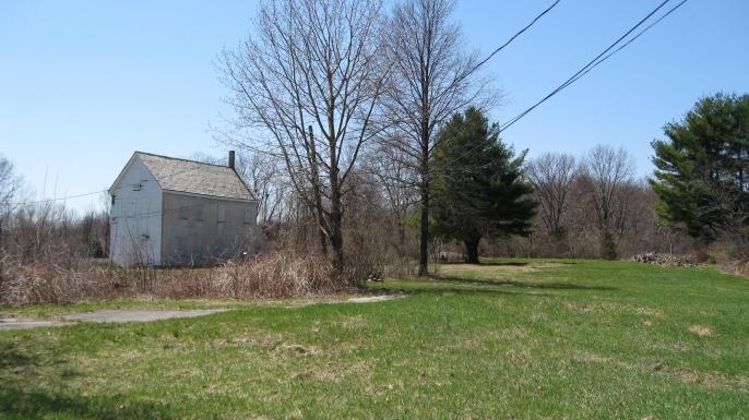 Site of Brook Farm in West Roxbury, Massachusetts.