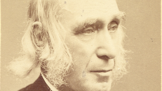 Bronson Alcott, cofounder of Fruitlands and father of Louisa May Alcott.