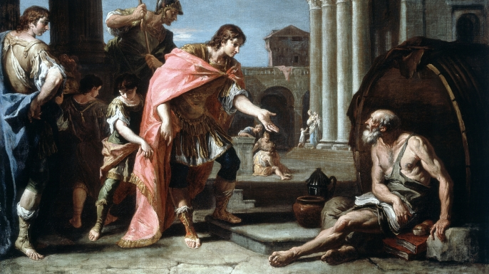 Alexander and Diogenes (Credit: Getty Images)