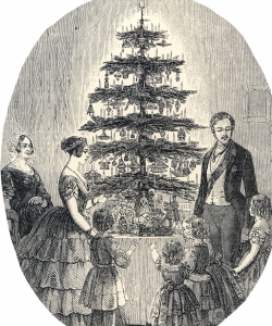 Royal Roots of American Christmas Tree