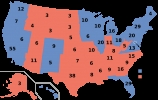 2012 Electoral College map