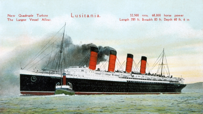 a history of the sinking of the lusitania in germany Sinking the lusitania, part 2  spent the war years covering the monumental innovations that changed the course of history,  germany saw streams of.