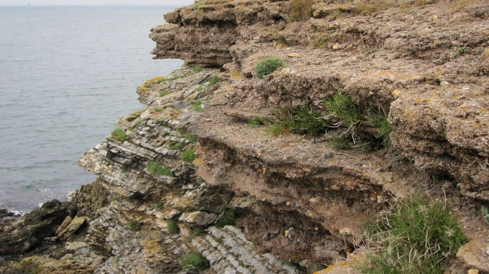 Pleistocene beaches like this one in Devon, England, may provide clues for paleoclimatologists.