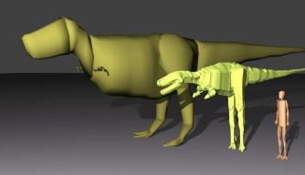 Tyrannosaurus Rex Goes Up a Size