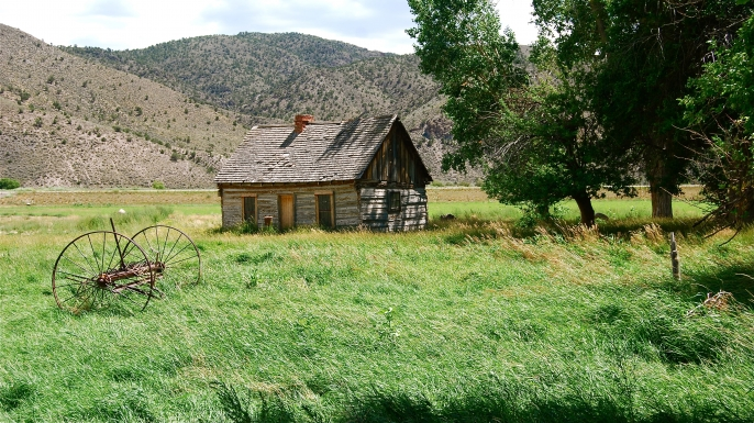 Butch Cassidy's childhood home