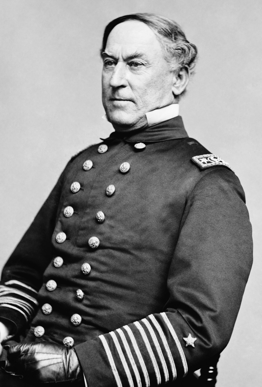 David Farragut, American Naval Hero Photograph by Science