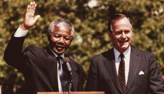 Nelson Mandela Comes to America