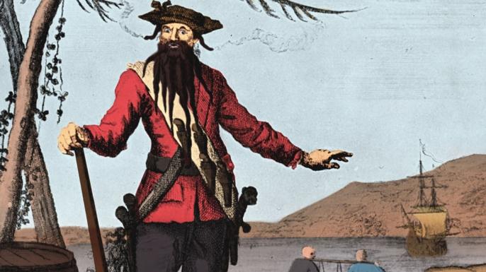blackbeard, pirates