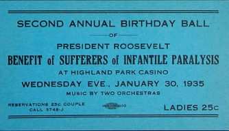 Franklin Roosevelt's Personal Polio Crusade