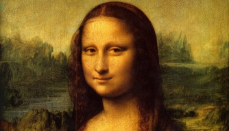 Who posed for Leonardo da Vinci's Mona Lisa?