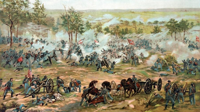 Image result for the end of the battle of gettysburg