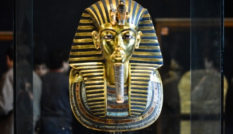 Beard on King Tut's Mask Snapped Off, Glued Back On