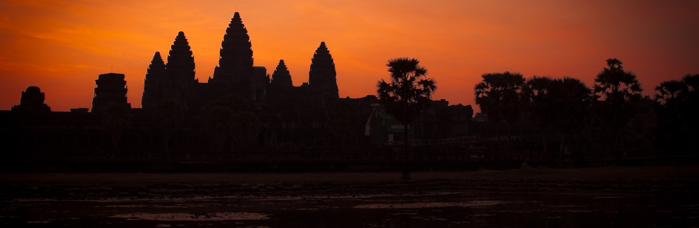 Archaeologists have discovered temple ruins near Angkor Wat in Cambodia. (