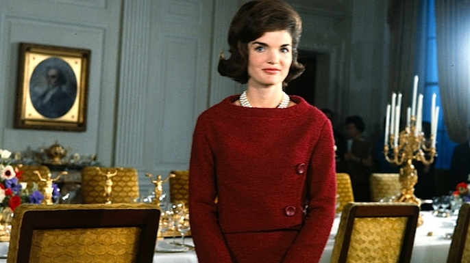 Jacqueline Kennedy delivers a tour of the White House on February 14, 1962. (Credit: CBS Archive/Corbis)
