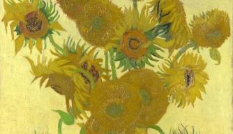 Van Gogh Painted Mutant Sunflowers