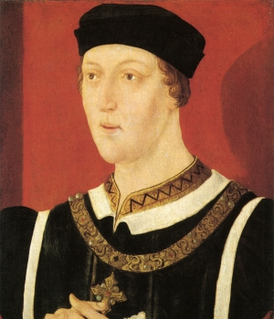 King Henry VI, who was dogged by mental illness for much of his life. (Credit: National Portrait Gallery)
