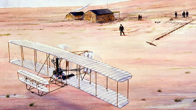 Would love wright brothers the fist plane !!!