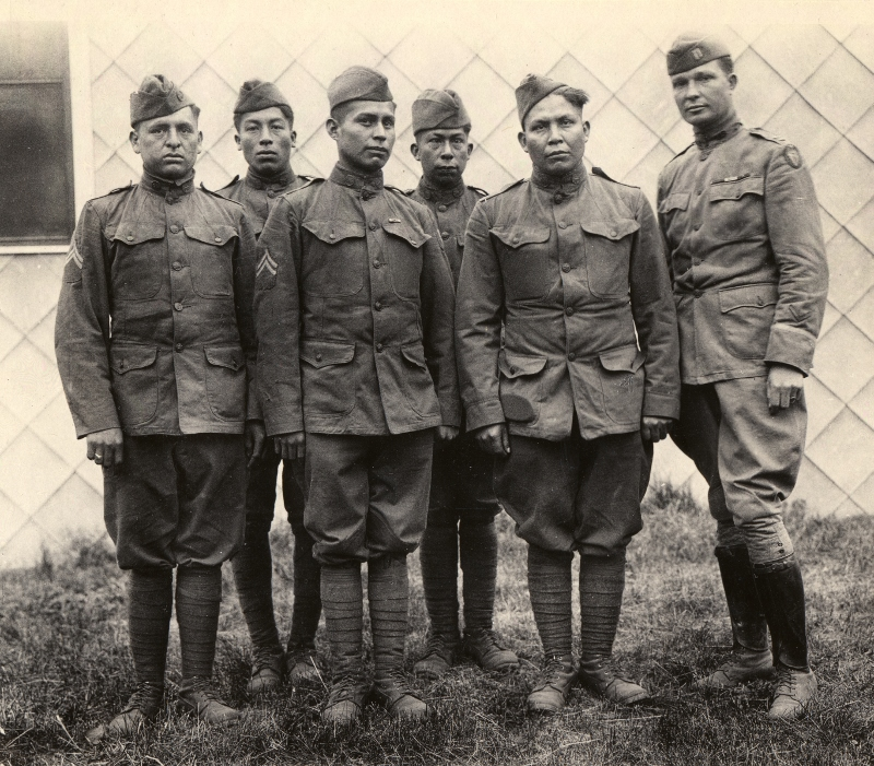 World War I's Native American Code Talkers - History in ...