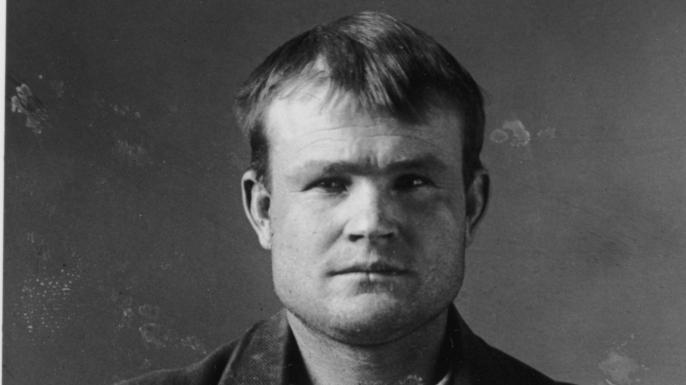 Butch Cassidy's mugshot, 1894