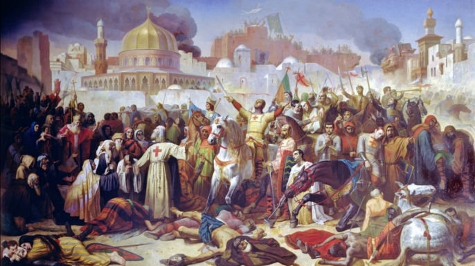 The fall of Jerusalem.