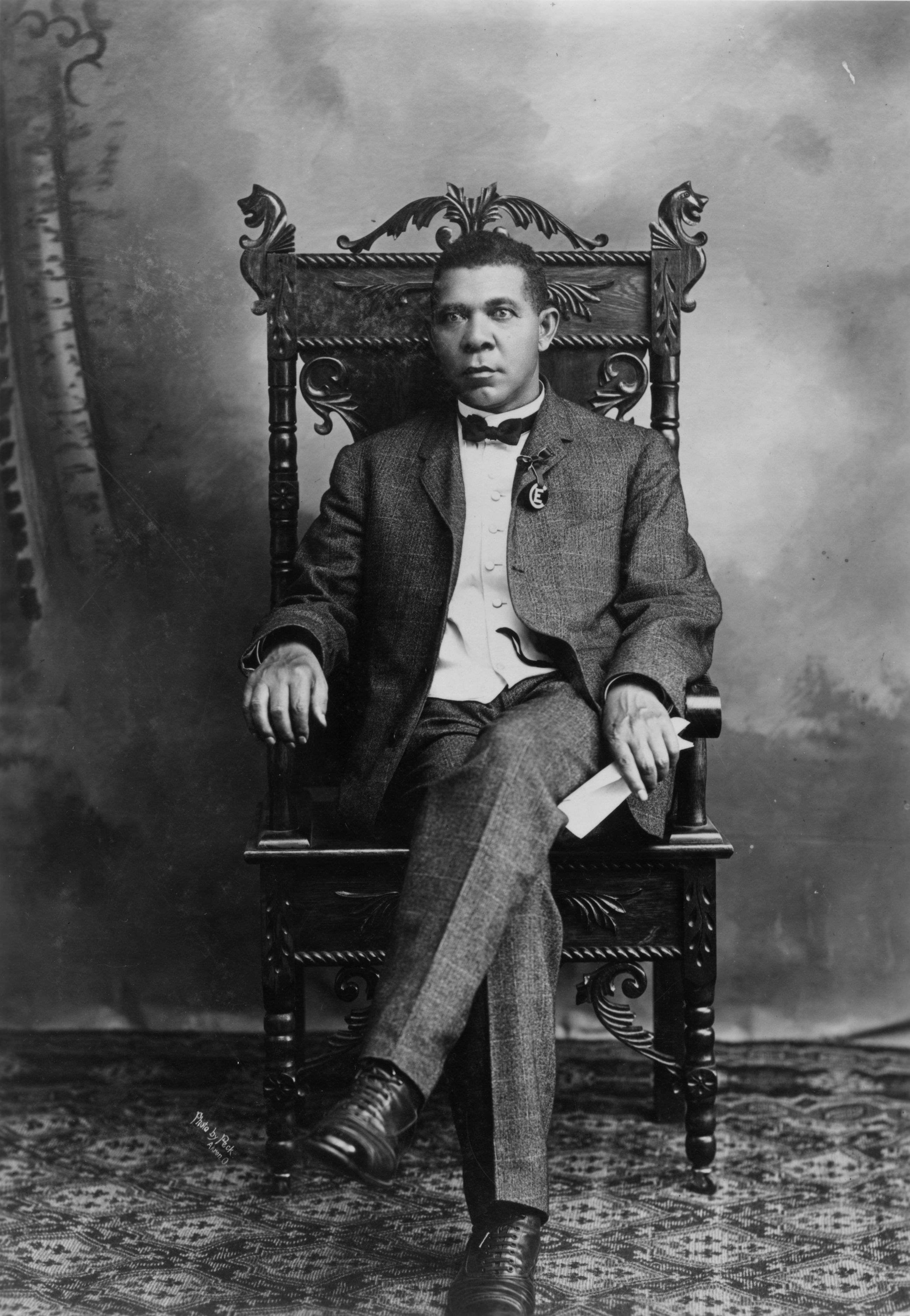 booker t washington papers