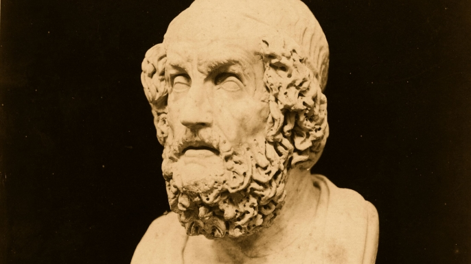 Bust of Homer (Credit: Hulton Archive/Getty Images)