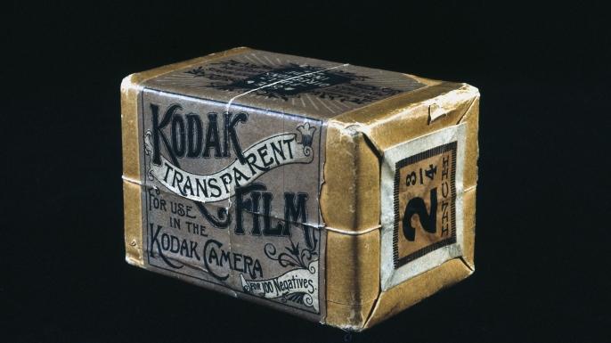 l Kodak film pack, c 1890.