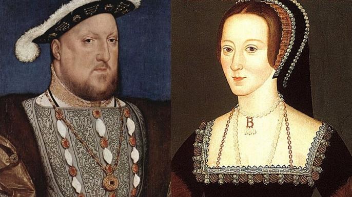 list romances henry viii anne boleyn