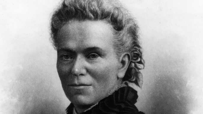 Author and suffragist Matilda Joslyn Gage, Baum's mother-in-law.