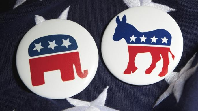 Democrat And Republican Symbol Election 101:How did t...