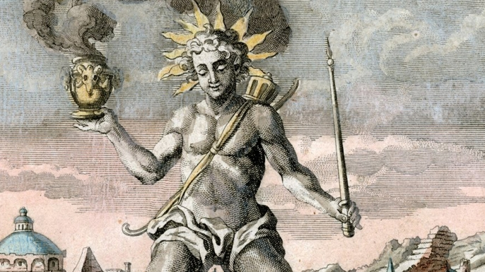 colossus of rhodes, seven wonders of the ancient world