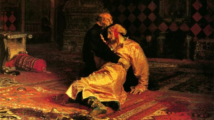 """Ivan the Terrible Killing His Son"" by Ilya Repin."