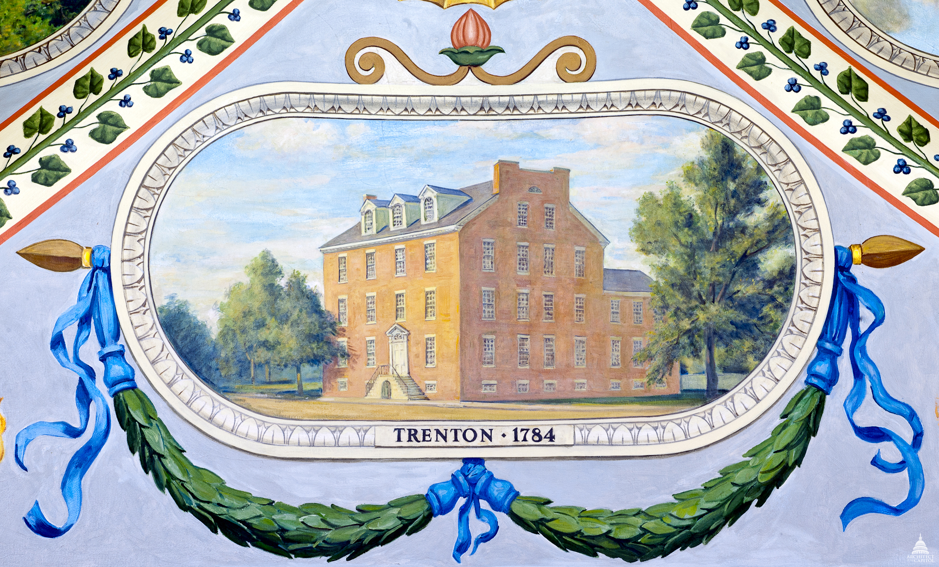8 forgotten capitals of the united states history in the headlines trenton new jersey us capitals sciox Image collections