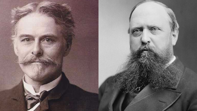 Edward Drinker Cope and Othniel Charles Marsh