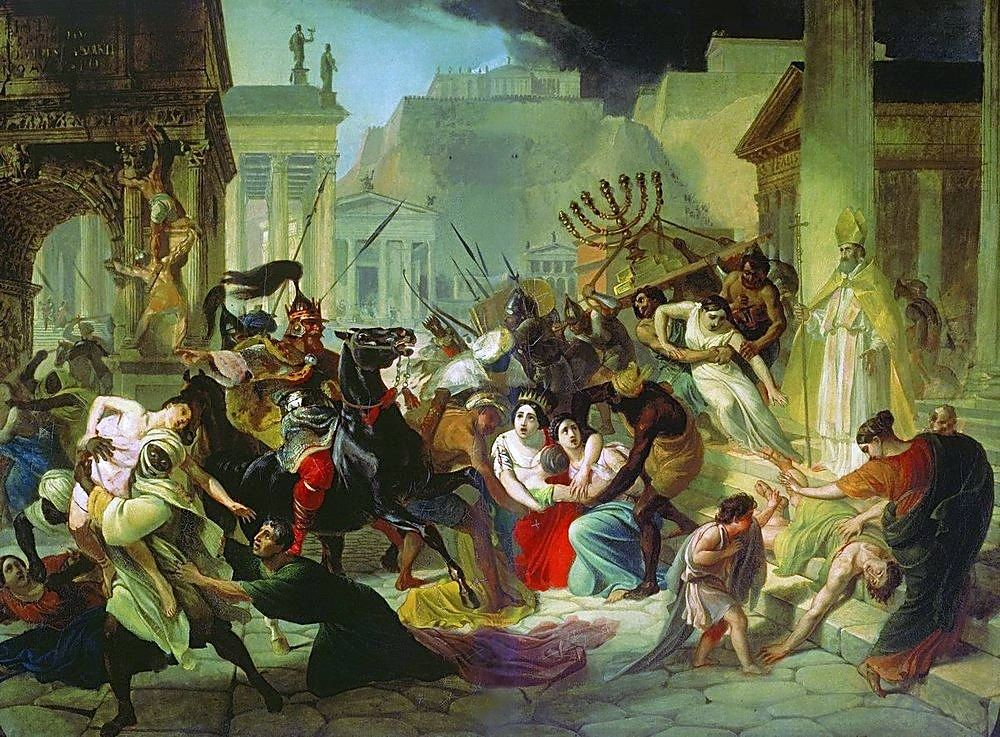 6 Infamous Sacks Of Rome