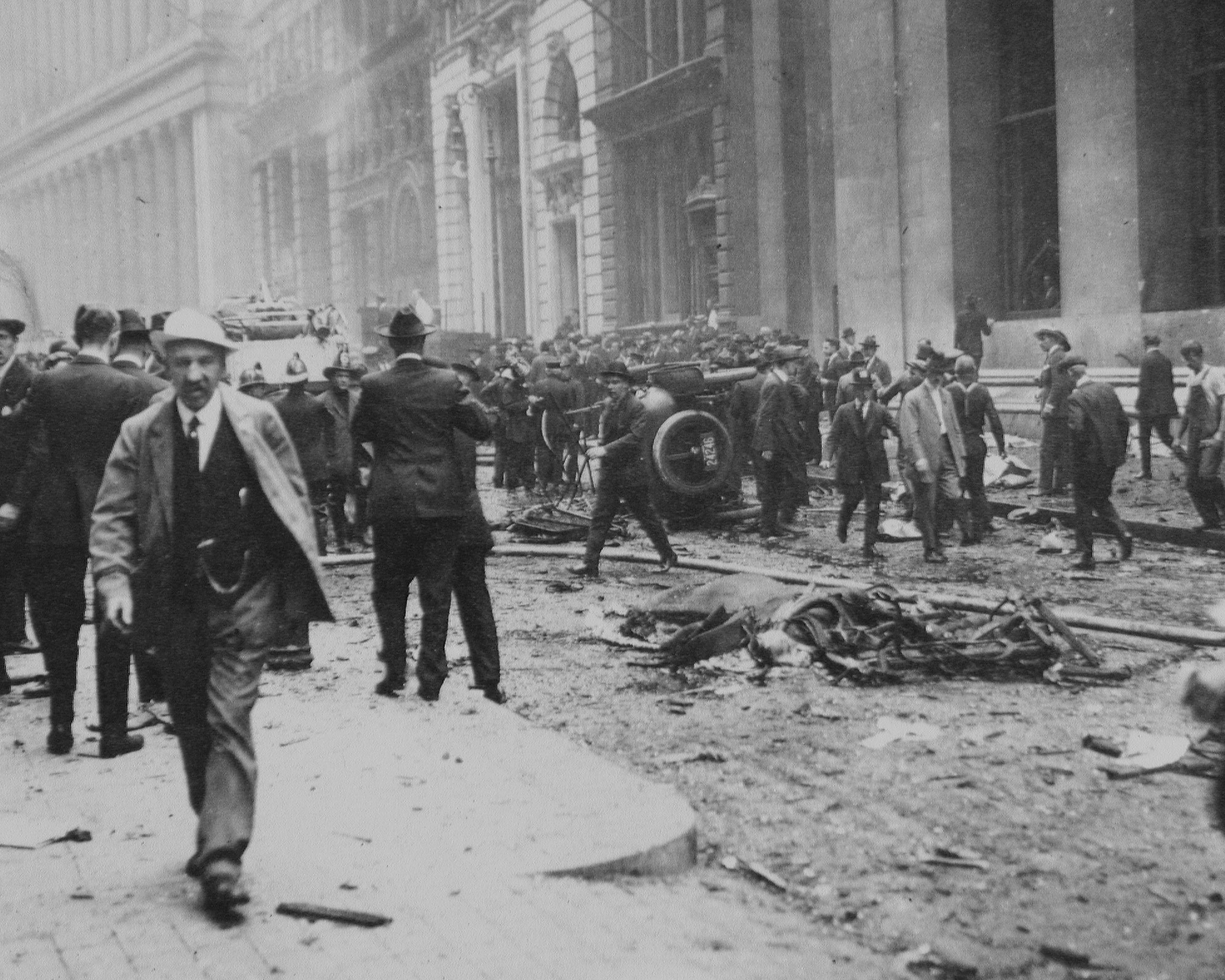 The Mysterious Wall Street Bombing 95 Years Ago History