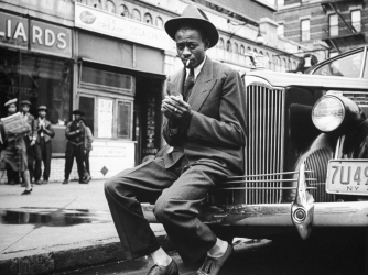 Satchel Paige In Harlem. (Credit: George Strock/Getty Images)