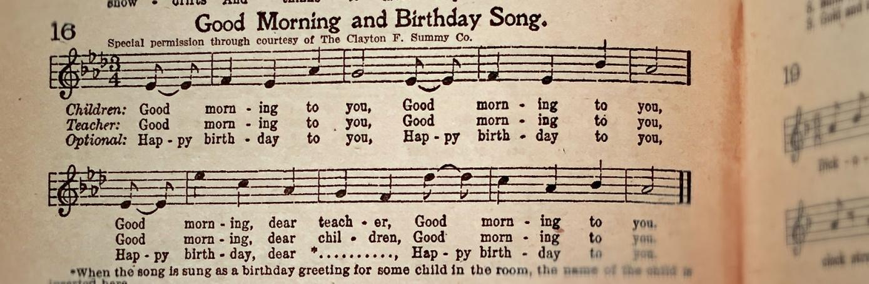 "Lyric birthday song lyrics : Judge Rules Copyright of ""Happy Birthday to You"" Invalid - History ..."