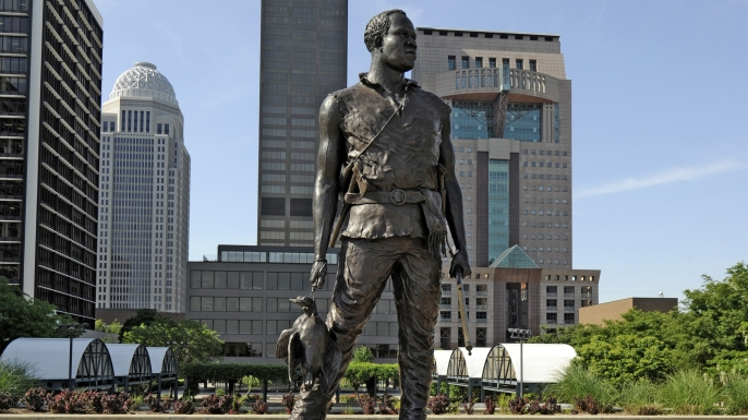 York statue by Ed Hamilton. (Credit: Dennis Macdonald/Getty Images)