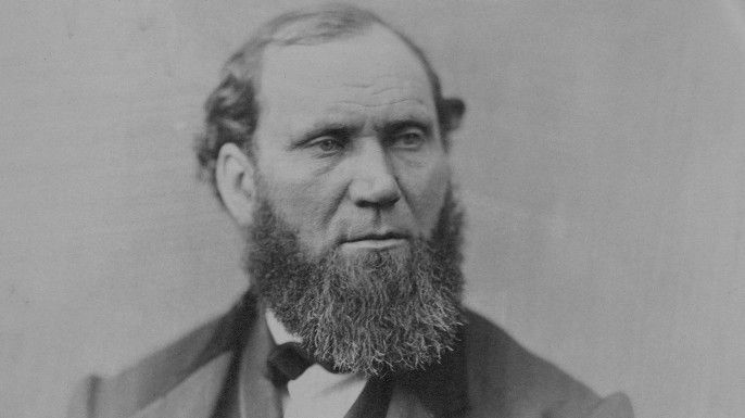 Allan Pinkerton, 1860. (Credit: Chicago History Museum/Getty Images)